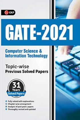 GATE 2021 Computer Science & Information Technology Topicwise (31 Years Solved Papers)
