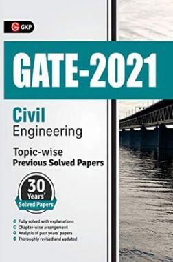 GATE 2021 Civil Engineering Topicwise (30 Years Solved Papers)
