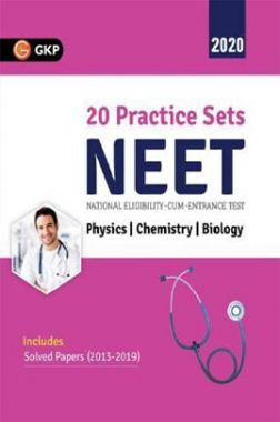 NEET 2020 - 20 Practice Sets (Includes Solved Papers 2013-2019)
