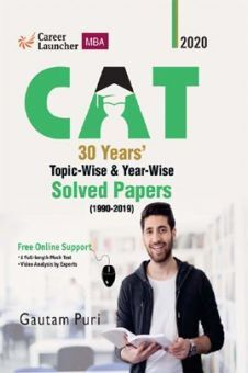 CAT 2020 30 Years Topic-Wise & Year-Wise Solved Papers 1990-2019
