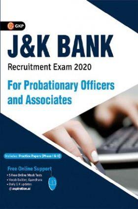 J & K Bank 2020 : Probationary Officers & Associates - Guide