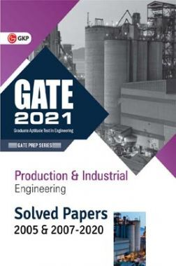 GATE 2021 - Production & Industrial Engineering - Solved Papers 2005 & 2007-2020