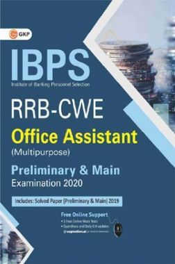 IBPS RRB-CWE Office Assistant (Multipurpose) Preliminary & Main -Guide