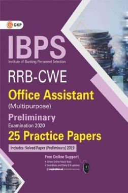 IBPS RRB-CWE Office Assistant (Multipurpose) Preliminary -25 Practice Papers