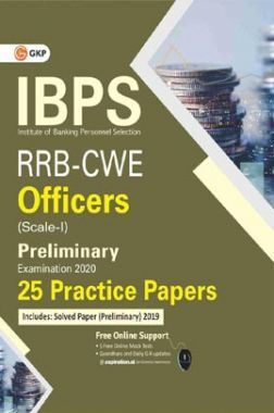 IBPS RRB-CWE Officers Scale I Preliminary -25 Practice Papers
