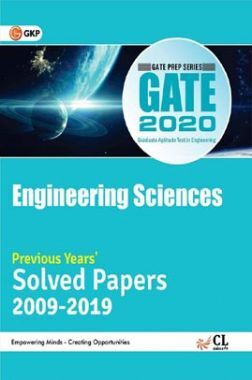 GATE 2020: Engineering Sciences - Solved Paper 2009-2019 (Section Wise)