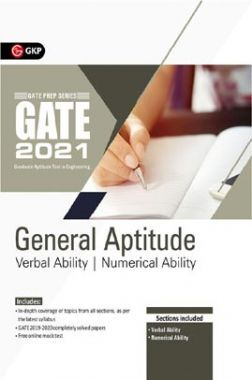 GATE 2021 - Guide - General Aptitude