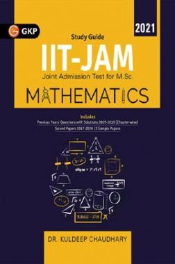 IIT JAM (Joint Admission Test for M.Sc.) 2021 - Mathematics