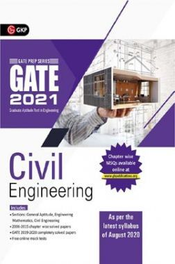 GATE 2021 - Guide - Civil Engineering (New Syllabus Added)