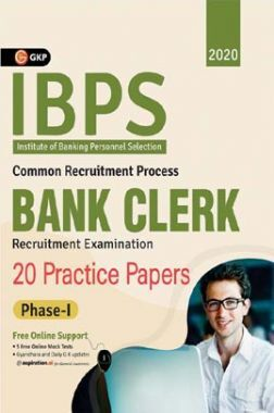 IBPS Bank Clerk 2020-21 : 20 Practice Papers (Phase I)