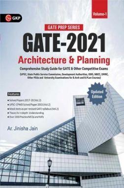 GATE 2021 Architecture & Planning Vol. 1