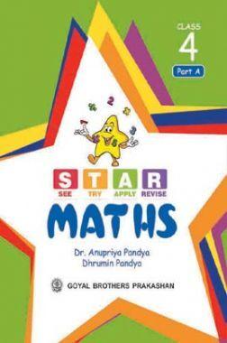 Star Maths Class 4 Part A, B, C & D