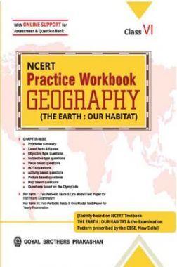 NCERT Practice Workbook Geography Class -6