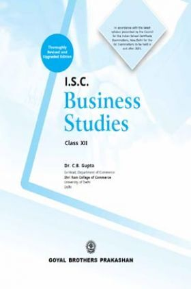 I.S.C. Business Studies For Class 12