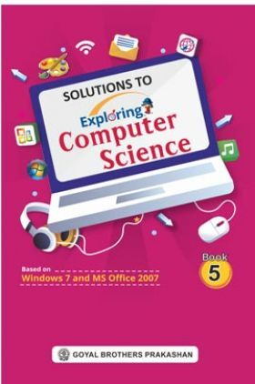 Solution To Exploring Computer Science Book - 5