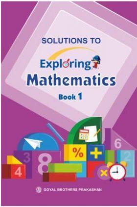Solution To Exploring Mathematics Book -1