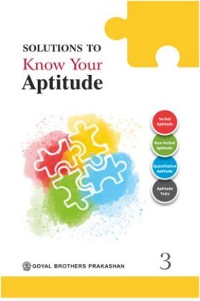 Solutions To Know Your Aptitude Book - 3