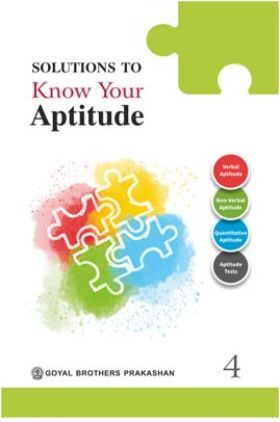 Solutions To Know Your Aptitude Book - 4