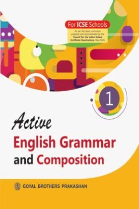 Active English Grammar and Composition For Class 1