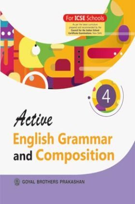 Active English Grammar and Composition For Class 4
