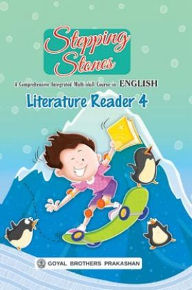 Stepping Stones Literature Reader For Class 4