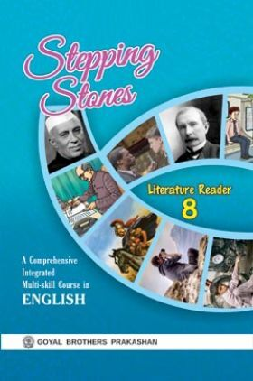 Stepping Stones Literature Reader For Class 8