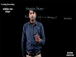 Reasoning - Coding Decoding (सांकेतिक भाषा परिक्षण) - 05