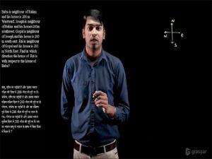 Reasoning - Direction Sense Test (दिशा परीक्षा) - 07