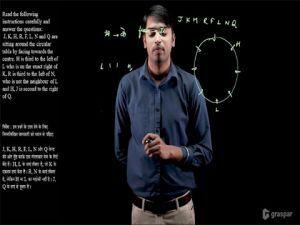 Reasoning - Sitting Arrangement (व्यवस्थित क्रम) - 04