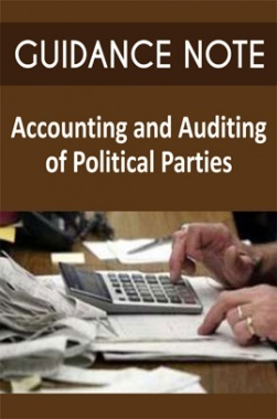 Guidance Note on Accounting and Auditing of Political Parties