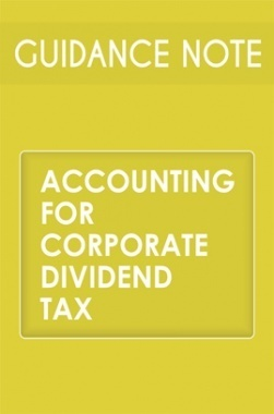 Guidance Note on Accounting for Corporate Dividend Tax