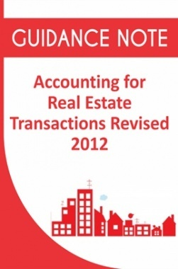 Guidance Note on Accounting for Real Estate Transactions Revised 2012