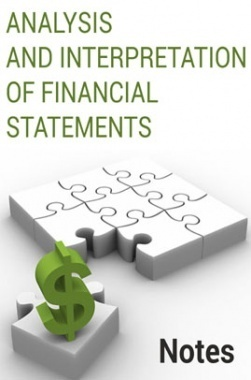 Analysis and Interpretation of Financial Statements Notes