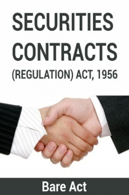 Securities Contracts (Regulation) ACT, 1956 Notes