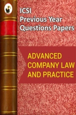 ICSI Advanced Company Law and Practice Question Paper