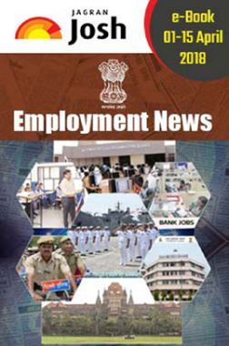 Employment News 01-15 April 2018