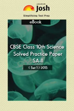 CBSE Class 10th Solved Science Practice Paper 2015 (Set-I)