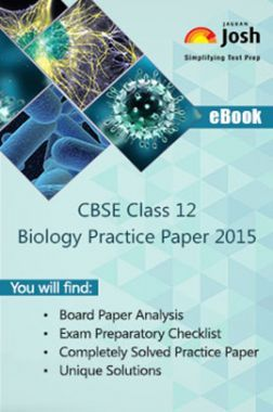 CBSE Class 12th Solved Biology Practice Paper 2015