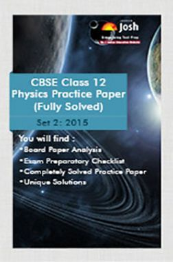 CBSE Class 12th Solved Physics Practice Paper 2015 (Set-II)