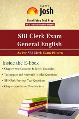 SBI Clerk Exam  General English