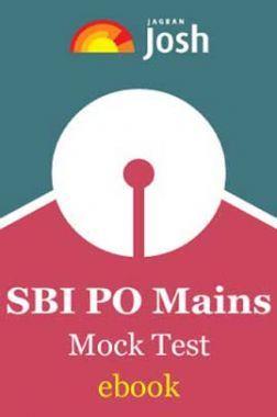 SBI PO Mains Mock Test eBook
