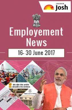 Employment News 16-30 June 2017