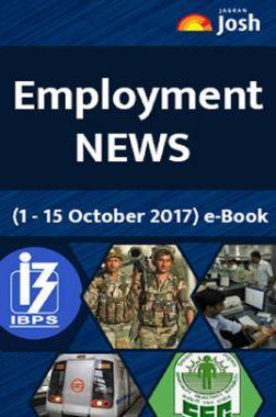 Employment News 1-15 October 2017 EBook