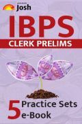 IBPS Clerk Prelims 5 Practice Sets Ebook