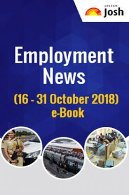 Employment News 16-31 October 2018 E-Book