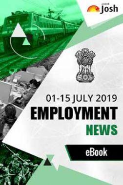 Employment News 01-15 July 2019