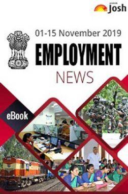 Employment News 01-15 November 2019