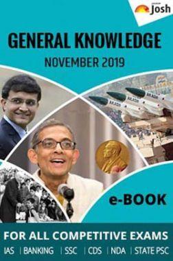 General Knowledge November 2019 E-Book