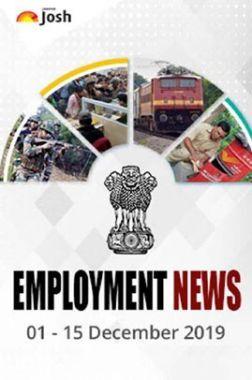 Employment News 01-15 December 2019