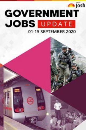 Employment News 01-15 September 2020